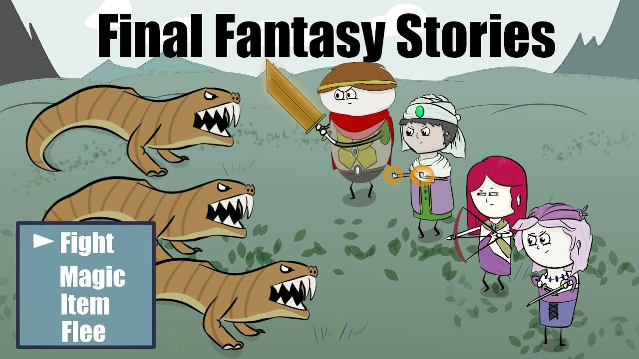 Video Game Memories: 2 Funny stories from my old Final Fantasy games