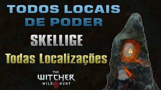 Todos os Locais de Poder (Skellige) - The Witcher 3