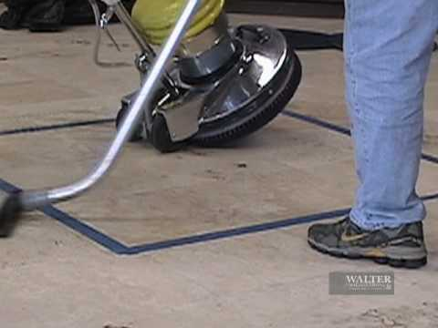 Norton Diamond Disk Stone Polishing Pads Training Video