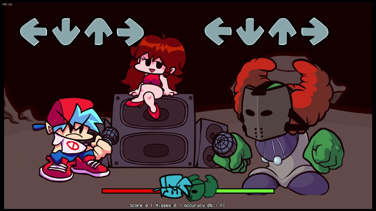 Download Playable Tricky (Friday Night Funkin) And Death Tricky