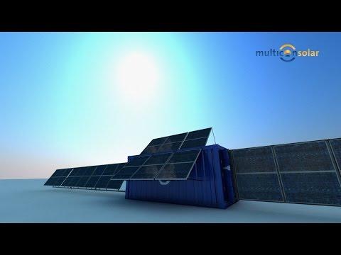 mobile solar plant