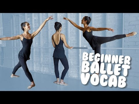 Learn Basic Ballet Vocab with Demonstration for Beginners I @Miss Auti