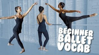 Learn Basic Ballet Vocab with Demonstration for Beginners I @MissAuti