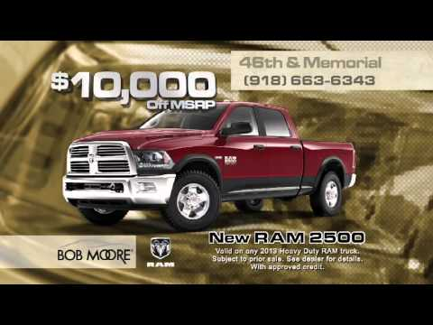 Bob Moore Chrysler Dodge Jeep Ram Of Tulsa February 2014 Commercial