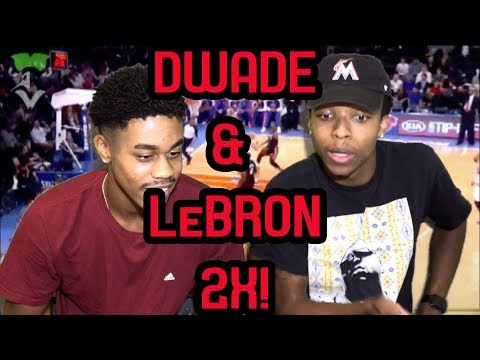 D WADE AND LEBRON ARE BACK TOGETHER!!! MIAMI HEAT 2012-2013 HIGHLIGHTS AND REACTIONS!