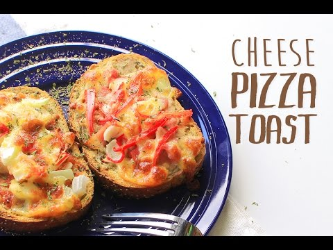 How To Make Cheese Pizza Toast|芝士披薩吐司 ...