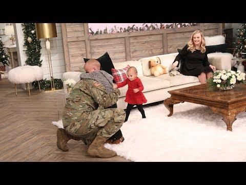 Military Dad Returns Home & Surprises His Kids! - Pickler & Ben