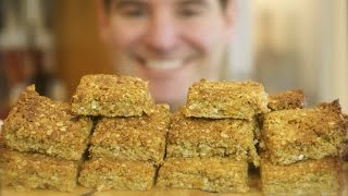 Peanut Butter Flapjacks: Chewy, Crunchy, Oat, Fruit And Seed Treat