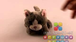 Котенок Мяу, мягкая озвученная интерактивная игрушка