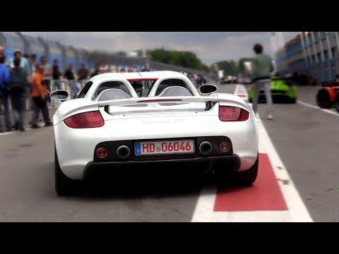 Porsche Carrera GT w/ Straight Pipes – Exhaust SOUND!
