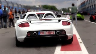 Porsche Carrera GT w/ Straight Pipes - Exhaust SOUND!