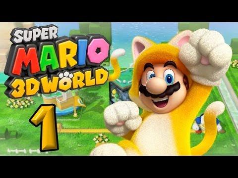 Super Mario 3D World Part 1: Dieses mal wird Peach nicht entführt?!
