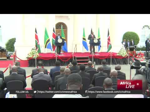 Tanzania's president in Kenya to discuss trade and security