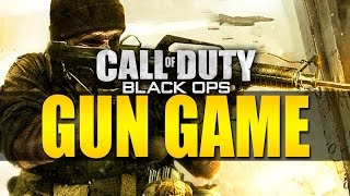CoD Black Ops 2 Wager Match #2 with The Sidemen (Gun Game)
