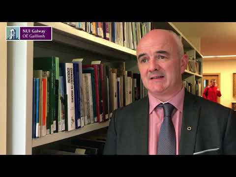 Conradh na Gaeilge Archives arrive at NUI Galway - Niall Comer