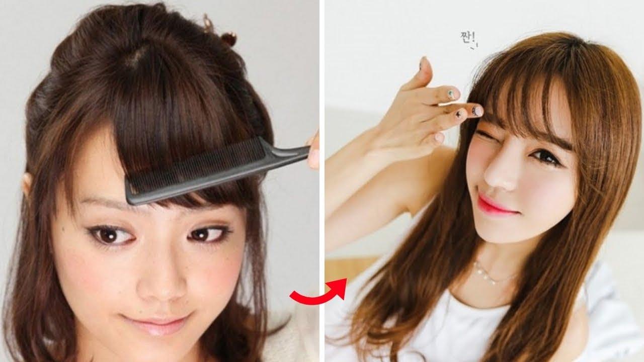 Cách giữ tóc mái luôn thẳng vào nếp mượt mà không bị bết!