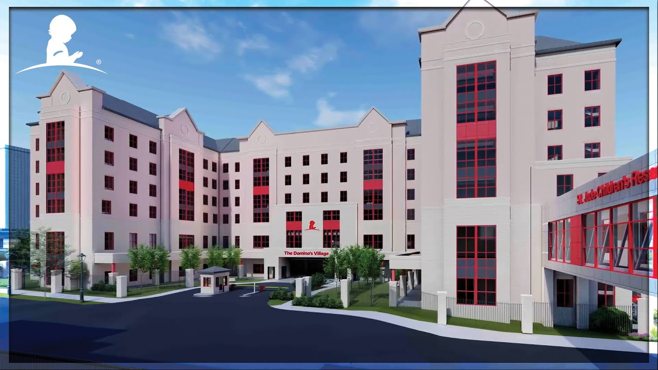 The Domino's Village: A $100 Million Dollar Housing Project Breaks Ground at St. Jude