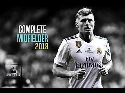 Toni Kroos ● Complete Midfielder ● Sublime Passing ● 2017/18 - HD