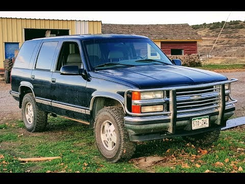 Rough Country Add-a-leaf Installation on 1995 Chevy Tahoe