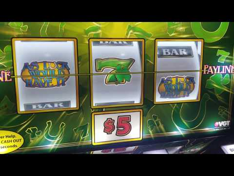 VGT SLOTS - $5 BET - AS LUCK WOULD HAVE IT LIVE PLAY