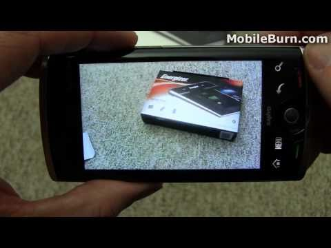 Sanyo Zio by Kyocera for Sprint review - part 2 of 2