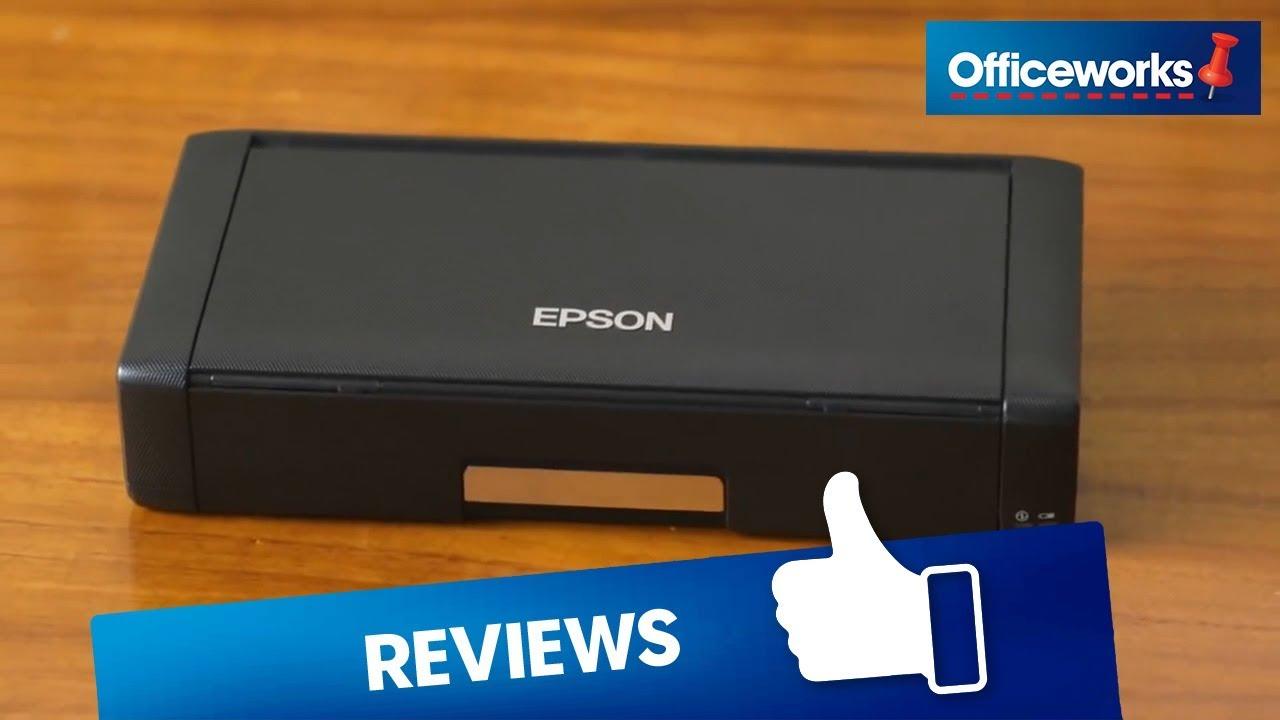 Epson WF-100 Portable Printer