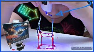 РИСУЕМ В ВОЗДУХЕ ✍️  РУЧКА 3D АТМОСФЛЭР 💎 DIY How To Draw In  AtmosFlare 3D Pen