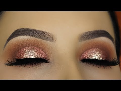 Halo Eye Makeup Tutorial - URBAN DECAY NAKED HEAT PALETTE