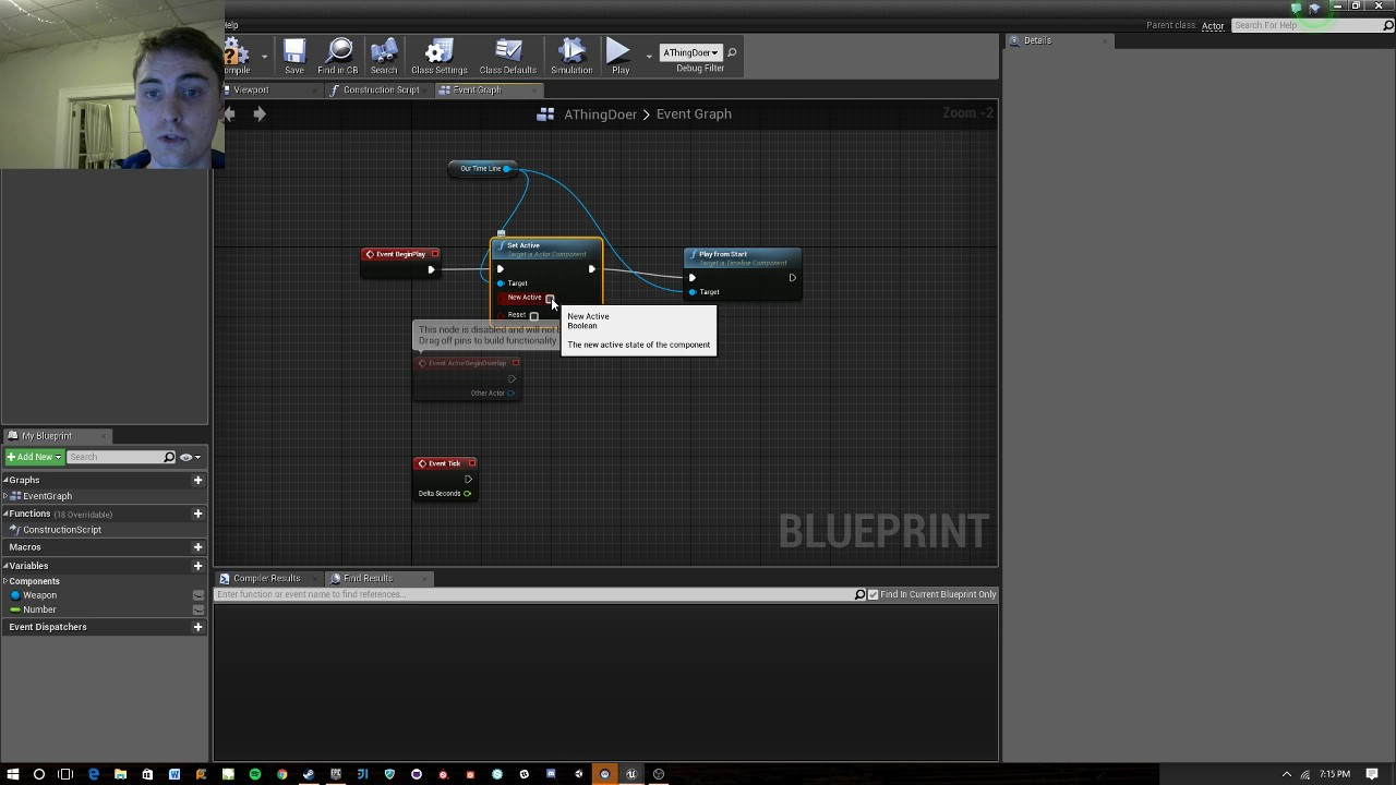 Unreal engine 4 quick how to use timelines youtube unreal engine 4 quick how to use timelines malvernweather Gallery