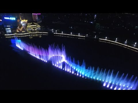 Chinese Cities Lightened up to Celebrate National Day