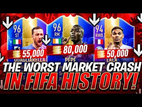 THE WORST MARKET CRASH IN FIFA HISTORY! PANIC! FIFA 19 Ultimate Team