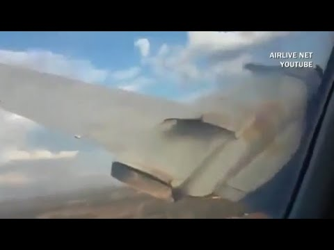 Final moments of fatal plane crash caught on camera by passenger
