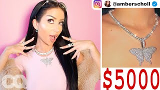 Amber Scholl Shows Off Her Insane Jewelry Collection | GQ Parody