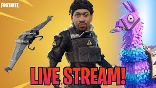 GETTING ROCK BOTTOMED IN DUOS! Fortnite (Live Stream)