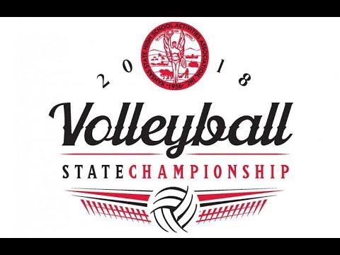 KSHSAA Class 5A volleyball final