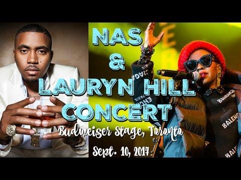NAS & LAURYN HILL CONCERT - TORONTO - SEPT. 10, 2017