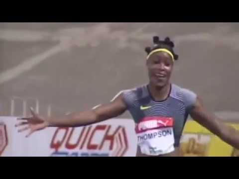Elaine Thompson vs Florence Griffith Joyner (100m)