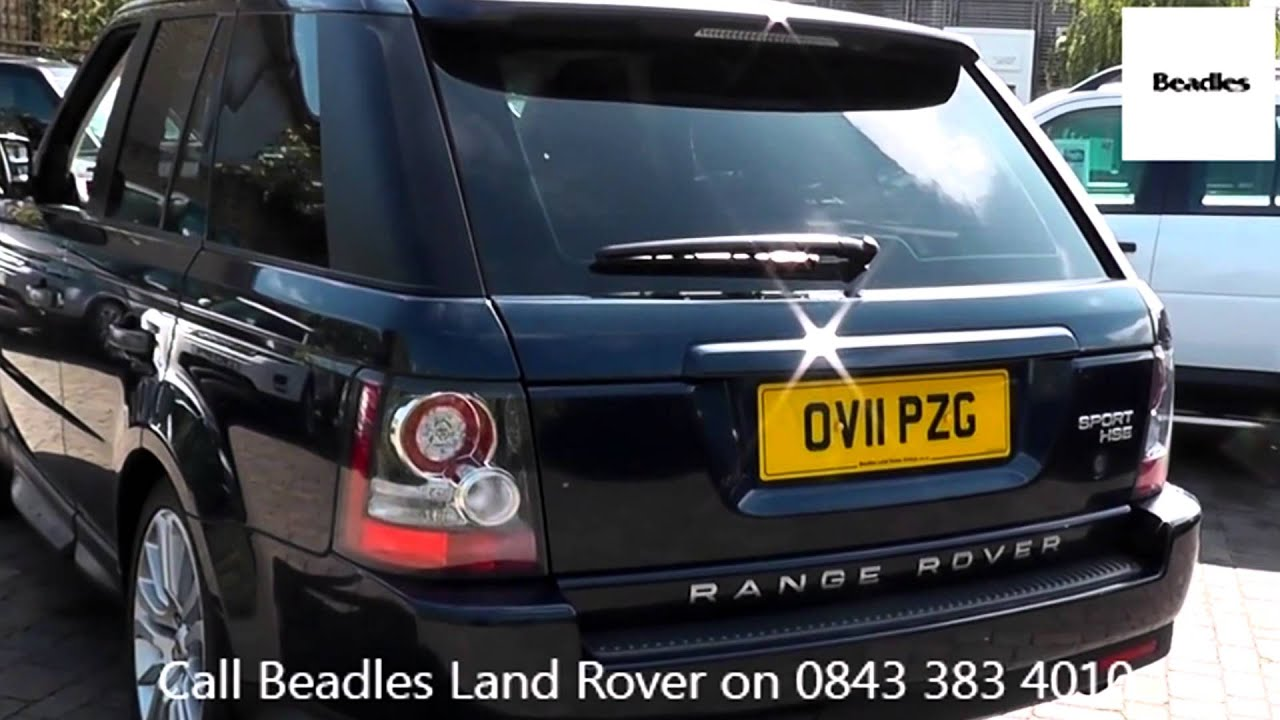 Beadles Baltic Blue 2011 Land Rover Range Rover Sport TDV6 HSE 3l