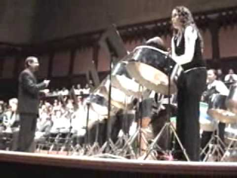 Cedarbrae Collegiate Steel Band TOCO BAND Massey Hall April 2, 09 playing Toco Band