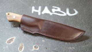 DIY knife sheath