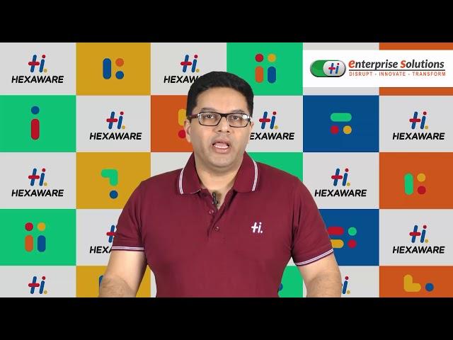 Hexaware Career: Leader Speak - Prasan Prabhakaran