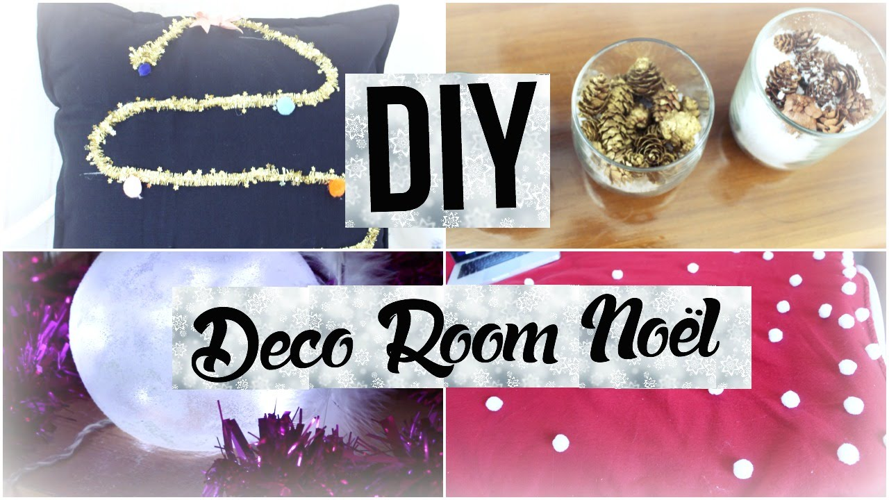 diy d core ta chambre pour no l deco room christmas i diy fran ais youtube. Black Bedroom Furniture Sets. Home Design Ideas