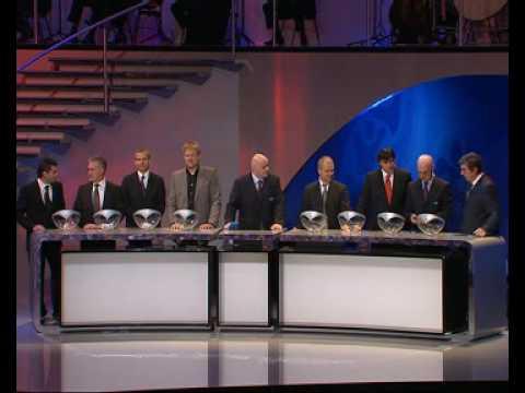 UEFA EURO 2008 draw Part 1