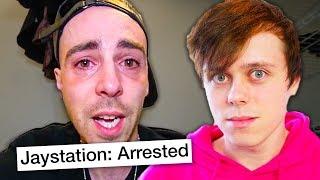 Jaystation was arrested