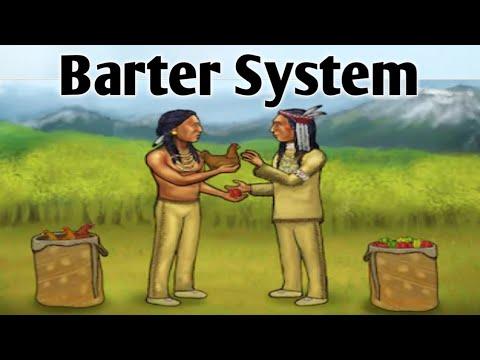 Barter System || Meaning of Barter || Barter