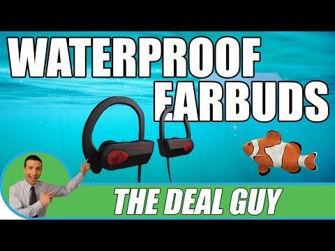 Black Friday 2016 Best Wireless Bluetooth Headphones ◄ WATERPROOF