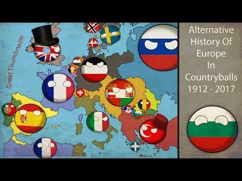 Alternative Fake History Of Europe In Countryballs 1912-