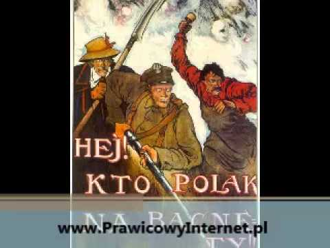 Orzeł biały, Orle! wzleć nad Polski łan! Polska Wisła, rzek królowa! - Pieśń Patriotyczna