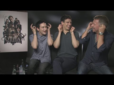 GOTHAM: Robin Lord Taylor, Cory Michael Smith & Sean Pertwee reveal future villains