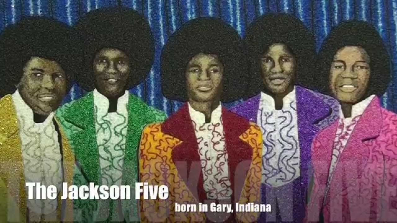 Just bead it by bead town gary indiana with stephan for Jackson 5 mural gary indiana